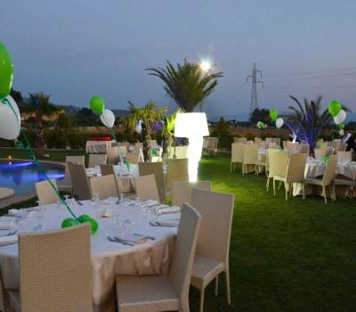 Cerimonia Prima Promessa nel giardino Luzzi Cosenza - Baccus Palace