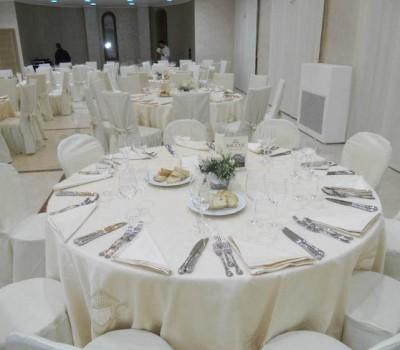 Disposizione tavoli Sala Diamante - Baccus Palace