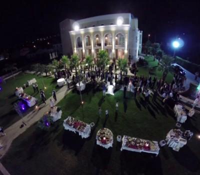 Banchetto matrimonio all'aperto - Baccus Palace